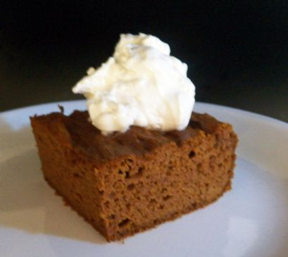 Easy Pumpkin Spice Cake - Gluten Free/Low Carb/Paleo