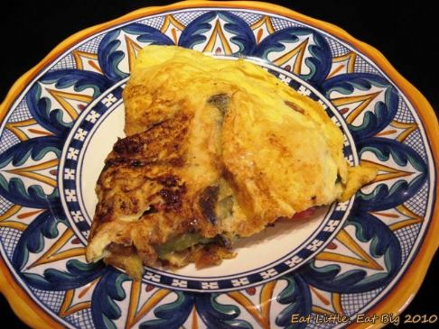 Roasted Veggie Omelet