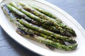 Monica's Garlic Asparagus