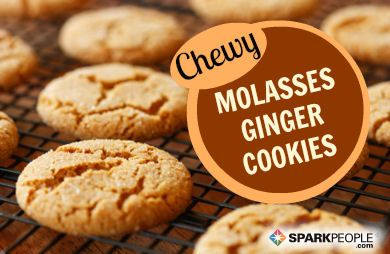Chewy Molasses Ginger Cookies
