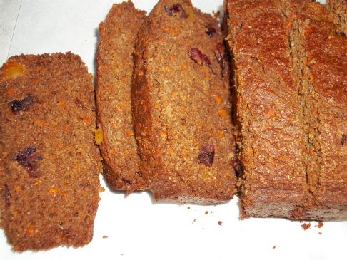Clean Eating Carrot Bread