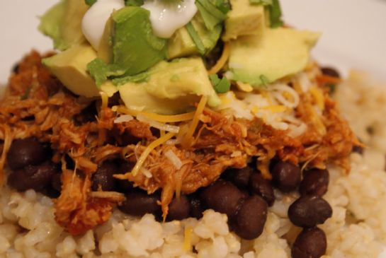 Crock Pot Taco Chicken