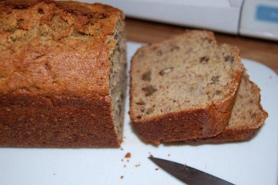 Fannie Farmer Banana Nut Bread w/substitution