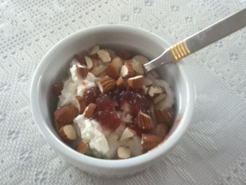 Ricotta, Jam & Almonds