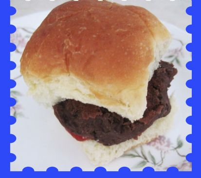Black Bean Sliders/Patties-Vegetarian