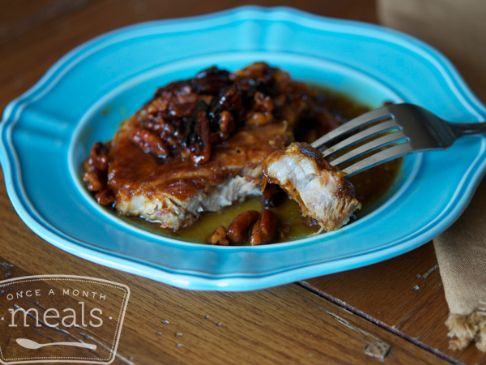 Gluten Free Dairy Free Honey Pecan Pork Chops
