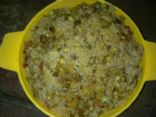 Daliya-peas-channa-beans pulao
