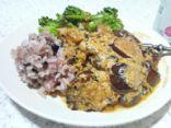 Eggplant curry (Achari Baingan)