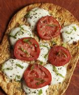Tomato-Basil Flatout Thin Crust Pizza