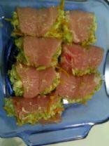 Vegetable-Stuffed Pork Chops