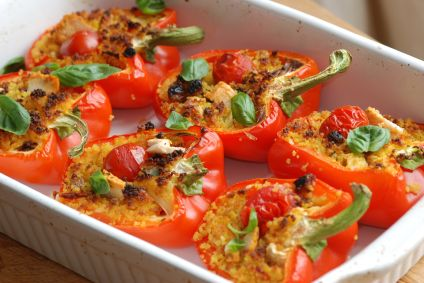 Chicken recipes with peppers