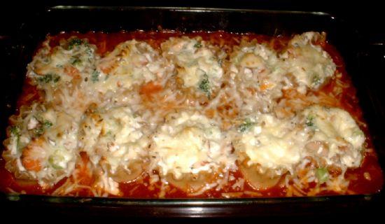 Broccoli Ricotta Lasagna Rolls