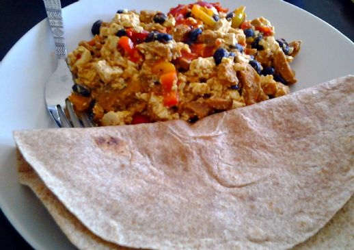 Vegan Mexican Scramble