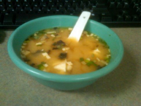 MISO Hornay Soup