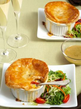 Skinny Lobster Pot Pie