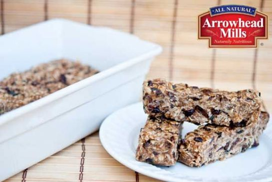 Clean Eating No Bake Oatmeal Granola Bars