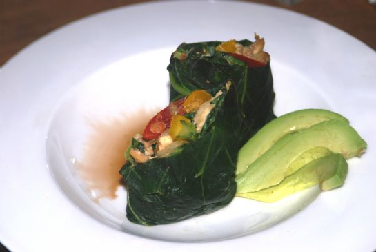 Farmer's Market: Collard Wraps