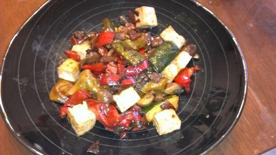 Tortelloni Stir Fry