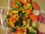 Gingery Vegetable Stir Fry