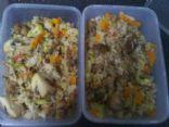 Turkey & Vegetable Fried Rice
