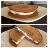 Egg White Oatcake Sandwich