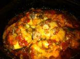 Chicken & Eggplant Parmesan Crockpot