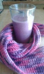 Beth's Cherry Berry Cobbler Smoothie