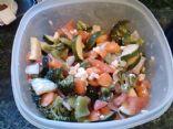 Marinated Italian Veggie Salad
