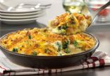 Turkey Broccoli Cheddar Bake