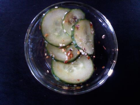 Japanese Style Pickled Cucumbers
