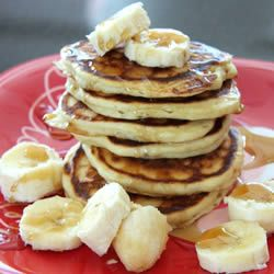 Banana-Vanilla Pancakes