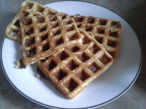 Lightweight Belgian Waffles