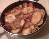 Mama Mary's Fried, then Steamed Cabbage, Potatoes & Carrots ( 1 serving = 1 cup)