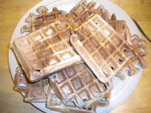 Vegan Waffles - Healthy Breakfast