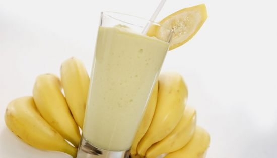 Reflux Banana-Aloe Smoothie