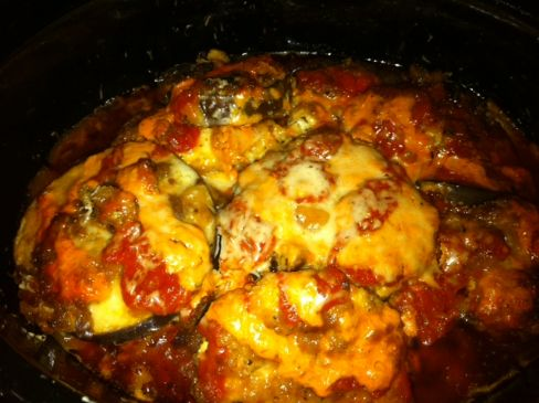 Chicken Amp Eggplant Parmesan Crockpot Recipe Sparkrecipes