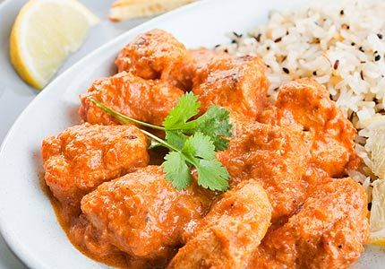 how to make low fat chicken tikka masala