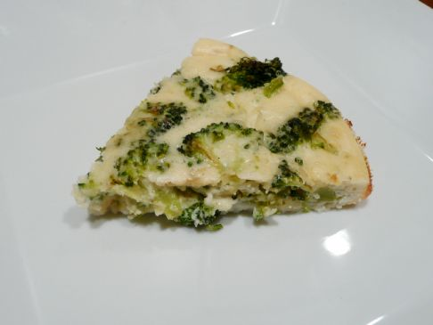 Egg White and Broccoli Quiche
