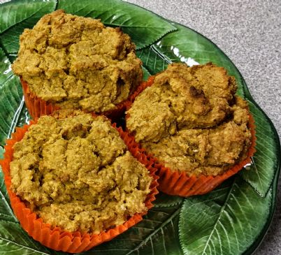 Gluten-Free Sweet Potato-Sorghum-Oat-Flax Muffins
