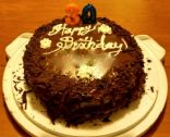 Dark Chocolate 2-Layer Cake