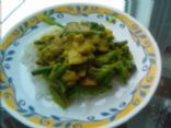 Coconut Ginger Mango Curry