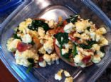 Florentine Breakfast Pizzas