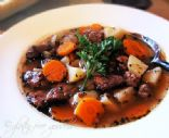 Beef Stew from Leftover Round Roast (Crockpot Recipe)