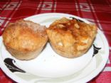 Lighter Apple Dumpling Muffins