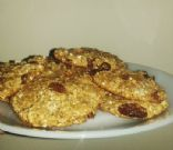 Low Calorie Oat Cookies