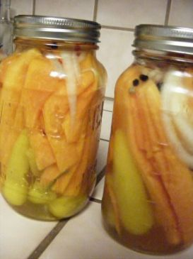 Pickled Papaya (Guam Style)