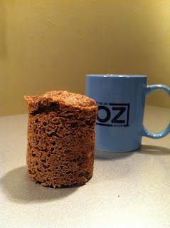 Skinny Breakfast Mug Muffin (from blog Alpha-Pink-Omega)
