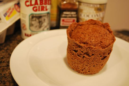 One Minute Flax Muffin