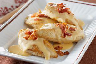 down-home cheesy bacon chicken