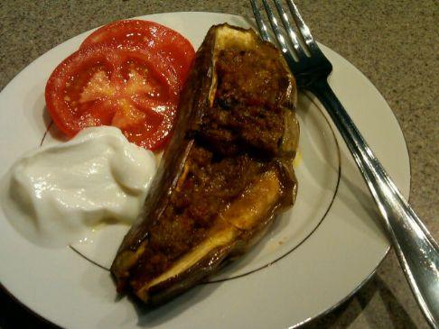 Indian Stuffed Eggplant